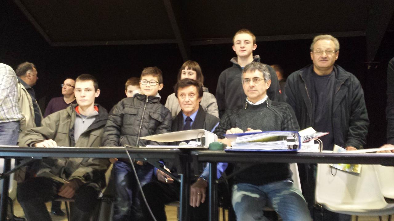 Assemblée Générale 2013 - Le Dimanche 19 Janvier 2014