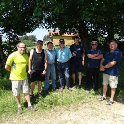 Nettoyage sur La Brossette le 06 Juin 2015