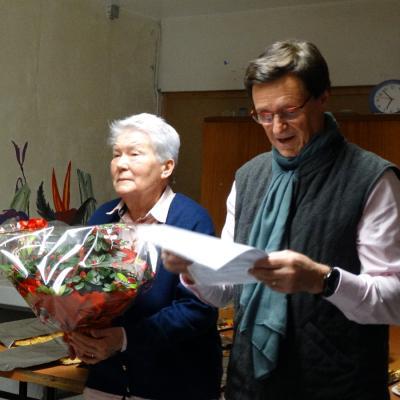 Roger Pascalon honoré : 30 ans de présence à l'A.A.P.P.M.A