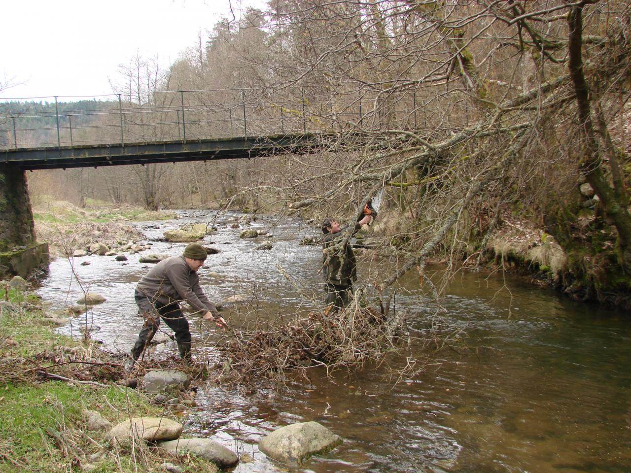 Nettoyage de rivière le 1er Mars 2014