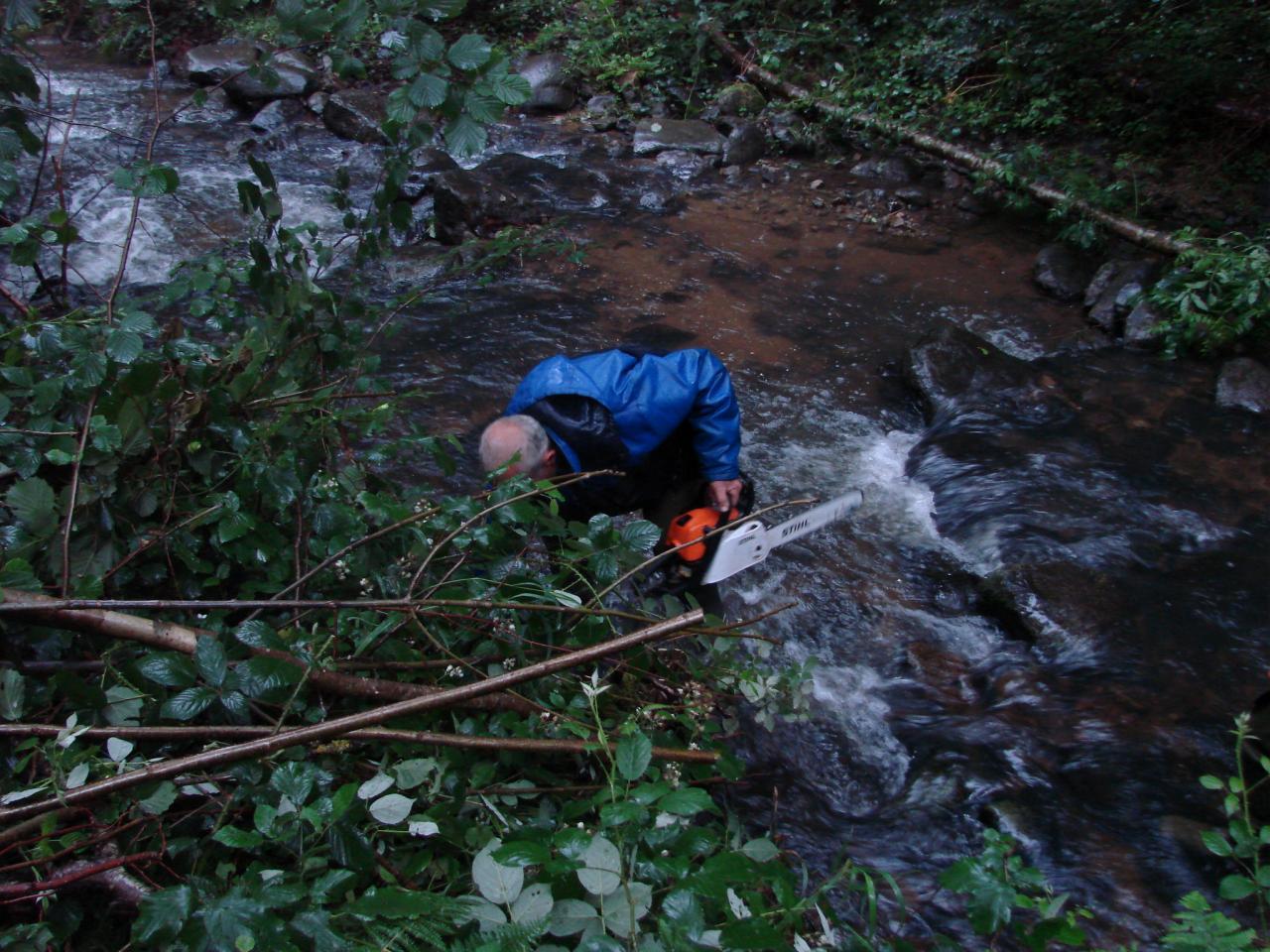Nettoyage du Ramel aux Six Ponts