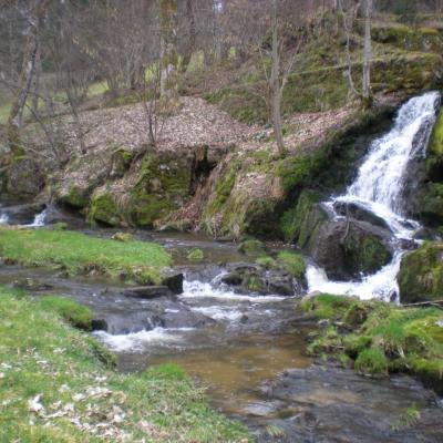 Une cascade de la Brossette