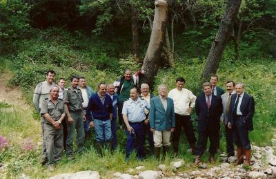 Réception des travaux 1997